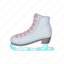 boot, cartoon, figure, ice, shoe, skate, skating icon