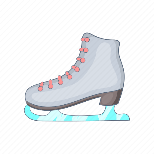 Boot, cartoon, figure, ice, shoe, skate, skating icon - Download on Iconfinder