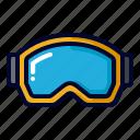 glasses, goggle, goggles, sport, winter icon