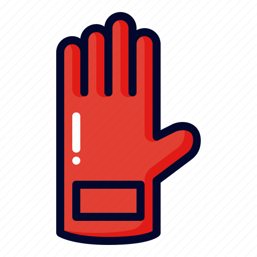 gloves, mitten, sport, winter icon