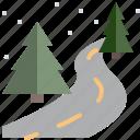 nature, road, street, travel, tree, vacation, winter