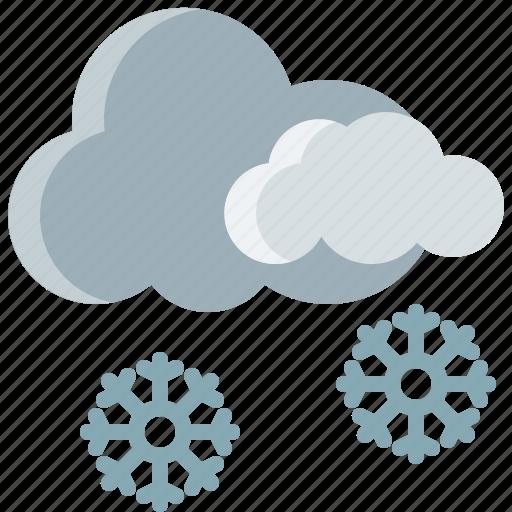 Cloud, season, snow, snowflake, weather, winter icon - Download on Iconfinder