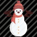 avatar, cartoon, decoration, snow, snowman, winter