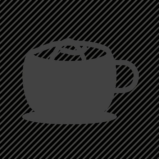 breakfast, caffeine, coffee, cup, drink, fresh, sugar icon