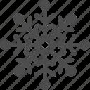 air, christmas, cold, snowflake, winter