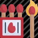 outdoor, matchbox, holidays, flame, matches, match fire, travel