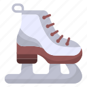 equipment, ice skating shoes, fashion, skates, shoe, ice skates, ice skate icon
