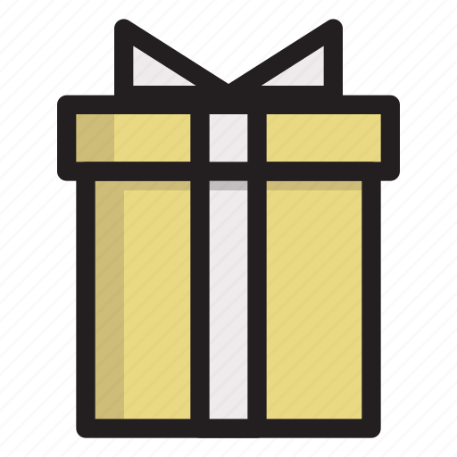 box, cold, gift, holiday, winter icon