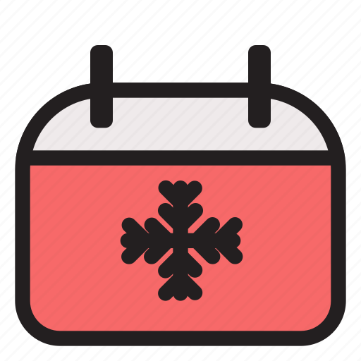 Calendar, cold, holiday, winter icon - Download on Iconfinder