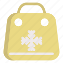 bag, cold, holiday, shopping, winter icon