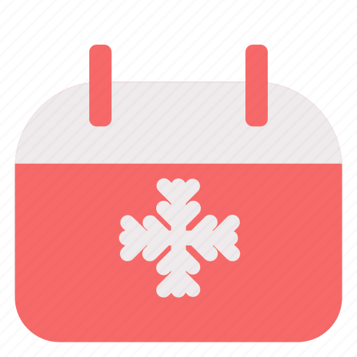 calendar, cold, holiday, winter icon