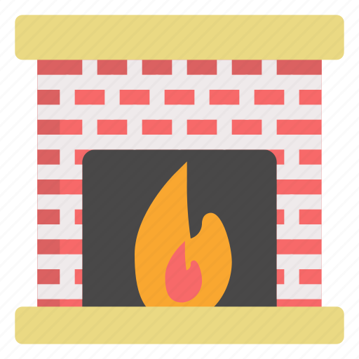 Cold, fireplace, holiday, winter icon - Download on Iconfinder