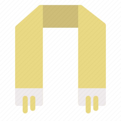 cold, holiday, scarf, winter icon
