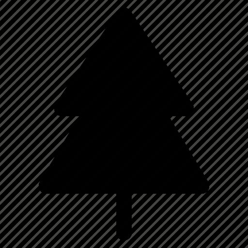 cold, nature, pine, season, weather, winter icon