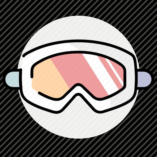 glasses, goggles, sport, winter icon