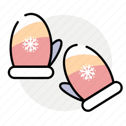 cold, gloves, winter icon