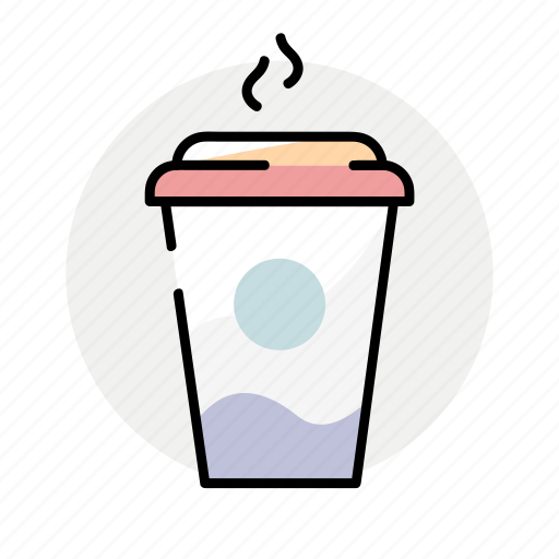 coffee, drink, hot drink, winter icon