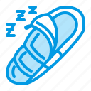 bag, camping, outdoor, sleeping icon