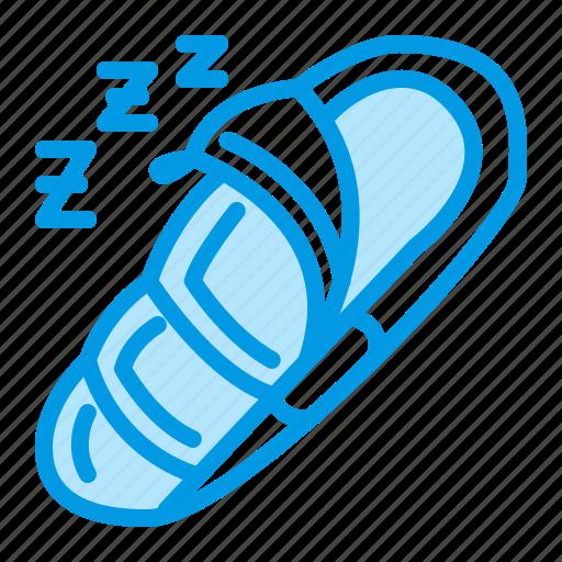 bag, camping, outdoor, sleeping icon