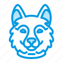 animal, dog, husky, pet icon