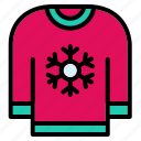 sweaters, garment, clothing, turtleneck, winter clothes, pullover, sweater icon