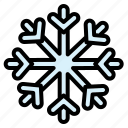 snow, crystal, winter, snowflake, ice crystal, ice, cold icon