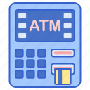 atm, cash, money, withdraw icon