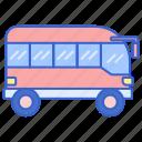 bus, transport, transportation, vehicle