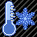 cold, freezing, temperature, winter