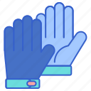 cold, gloves, hand, winter icon