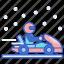 ice, karting, sports, winter