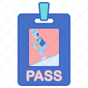 pass, ski, sports, winter
