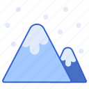 cold, mountain, snow, winter icon
