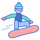 snow, snowboarding, sports, winter