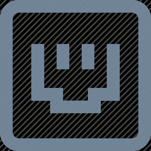 line, network, wireless icon