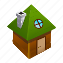 about, home, house, hut, medieval, witch icon
