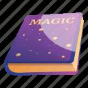 book, halloween, kid, magic, retro, star