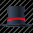 fashion, hat, magic, retro, top icon