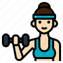 activity, fitness, gym, healthy, lifestyle, weight, woman