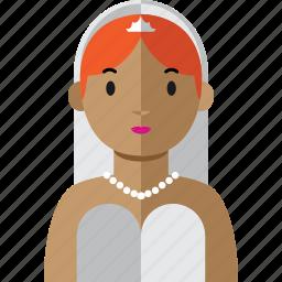 avatar, bride, weeding, wife, woman icon