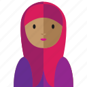 avatar, islam, moslem, mosque, woman icon