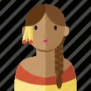 america, avatar, etnic, indian, woman