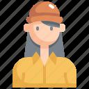 avatar, cap, girl, hat, profile, user, woman