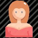 avatar, girl, profile, user, woman