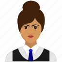 avatar, business, girl, user, woman icon