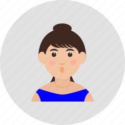 avater, girl, user, woman icon