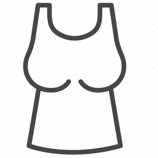 Clothes, fashion, outfits, tank tops, tops, women icon - Download on Iconfinder