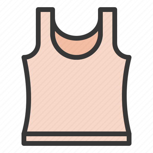 camisole, clothes, clothing, fashion, female, women, women's clothing icon