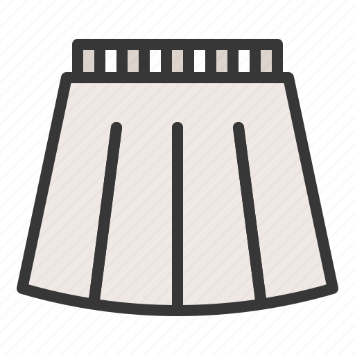 Clothes, fashion, female, skirt, women, women's clothing, clothing icon - Download on Iconfinder