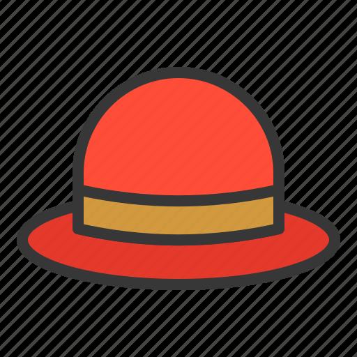 clothes, fashion, female, hat, women, women's clothing icon